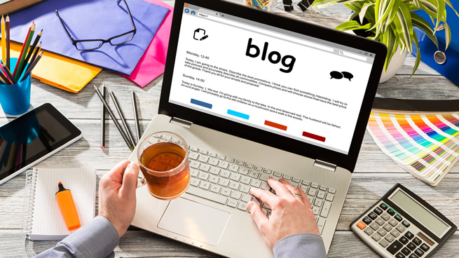How often should I 'blog?